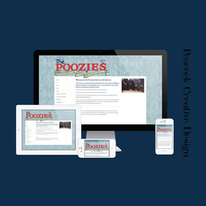 Website for The Poozies